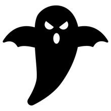 Halloween Ghost Vector Icon