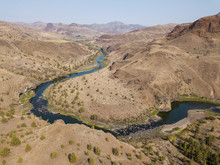 River Bend Desert Aerial View