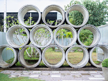 Concrete Drains Pipes