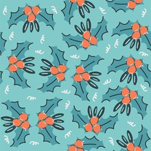 Funny Seamless Pattern For Chr...