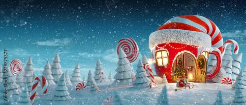Amazing fairy house #229875377