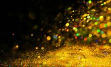 Sprinkling Of Golden Glitters ...
