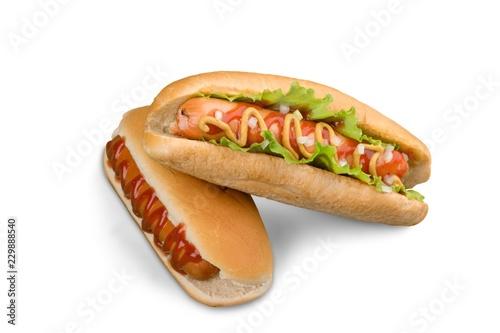 Fotografie, Tablou Hot Dogs