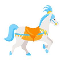 Circus White Horse