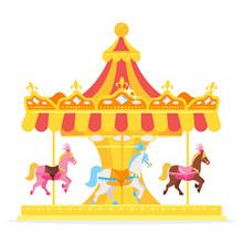 Illustration Of Carousel