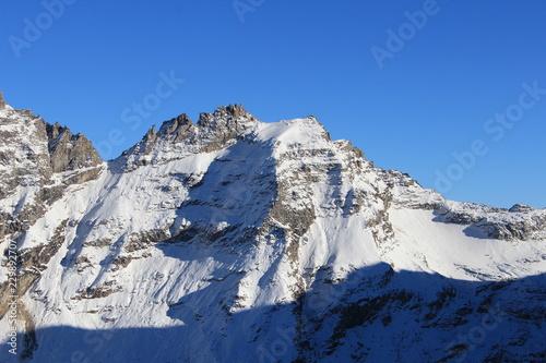 Staande foto Alpen sommet des Alpes