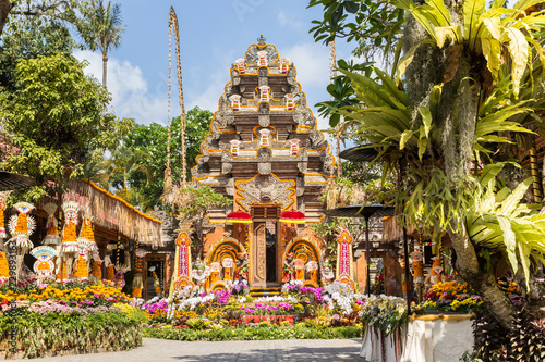 Foto op Canvas Bali Temple and garden of the Ubud Palace, Bali, Indonesia