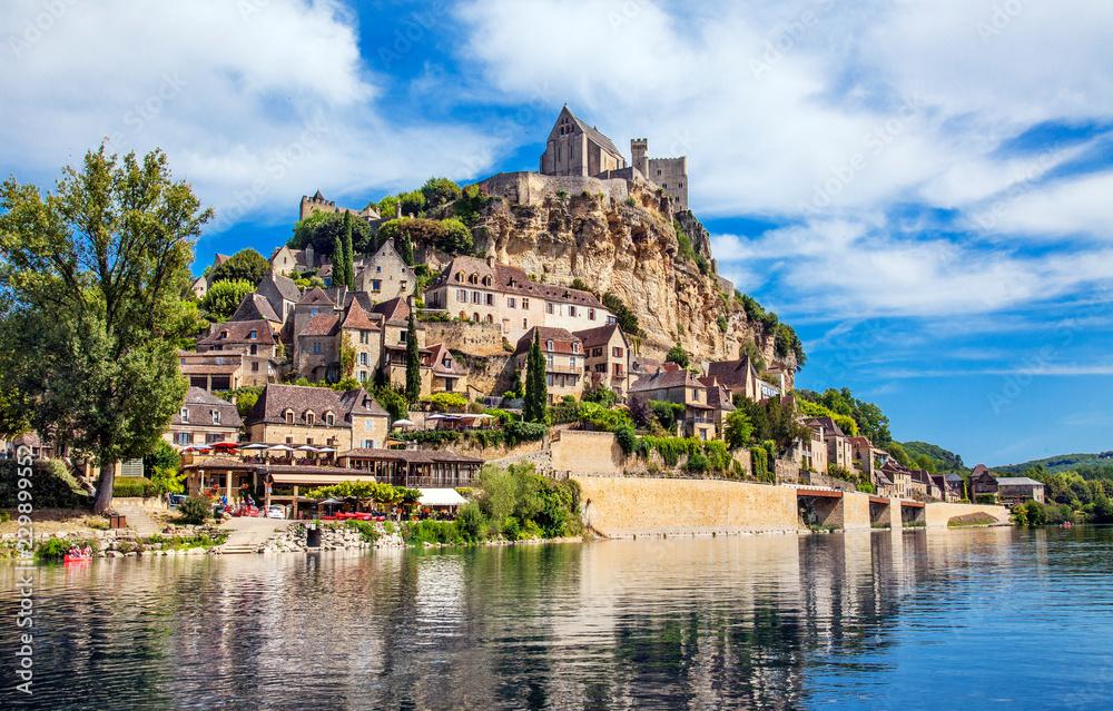 Fototapety, obrazy: Château de Beynac, Frankreich