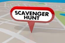 Scavenger Hunt Game Find Hidde...