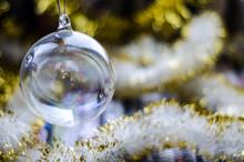 Transparent Glass Christmas To...