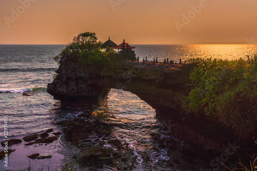 Foto op Aluminium Koraal Tanah Lot Temple in Bali Indonesia
