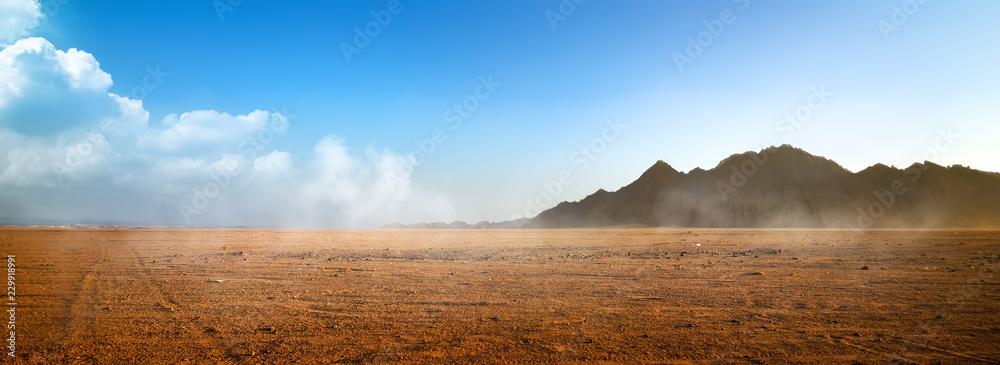 Fototapeta Mountains at surise