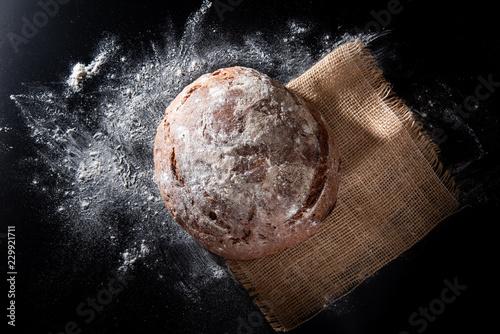 Frisches Brot Fototapete
