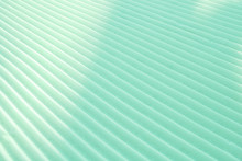 Geometrical Background Of Light Mint Green Diagonal Parallel Snow Stripes