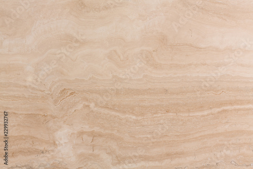 Keuken foto achterwand Marmer Fresh travertine texture in new light colour.