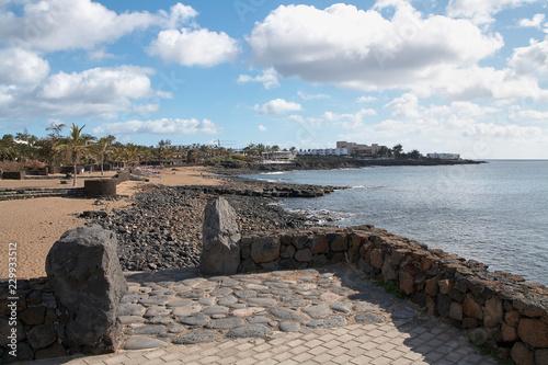 Photo sur Aluminium Ligurie Die kanarische Insel Lanzarote