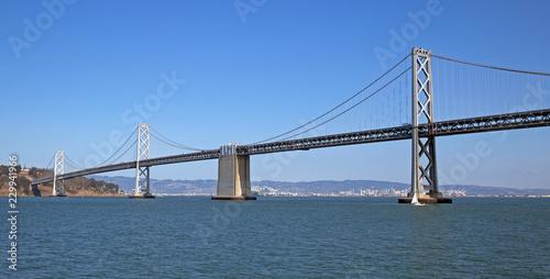 San Francisco Bay Bridge on a clear day