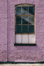 Urban Purple Wall
