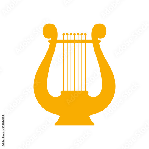 Photo  Icon lyre, a stringed musical instrument