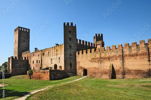 Photo Le mura ed il castello di Montagnana - Padova