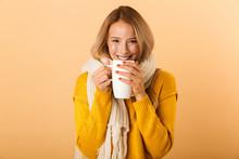 Woman Holding Cup Of Tea Weari...