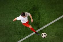 Football Player Tackling For B...