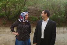 Middle Aged Turkish Couple Sho...