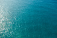 Blue Ocean From Above