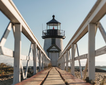 View Of Brant Point Lighthouse...