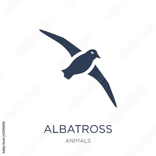 albatross icon Fototapeta