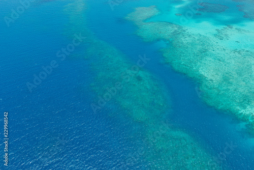 Aerial Great Barrier Reef Queensland