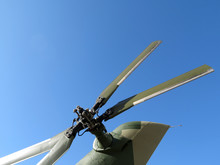 Tail Rotor Of Helicopter Isola...