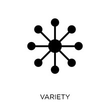 Variety Icon. Variety Symbol Design From Analytics Collection.