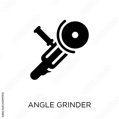 Slika na platnu Angle grinder icon