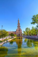 South Tower Of Plaza De Espana...