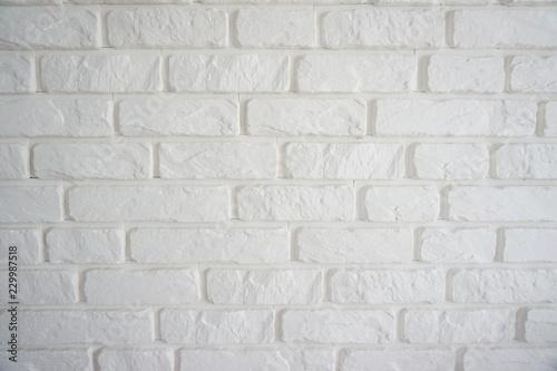 Fototapeta Biały kamień na ścianie obraz