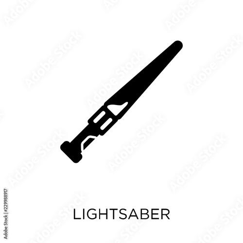 Fotografie, Tablou  Lightsaber icon