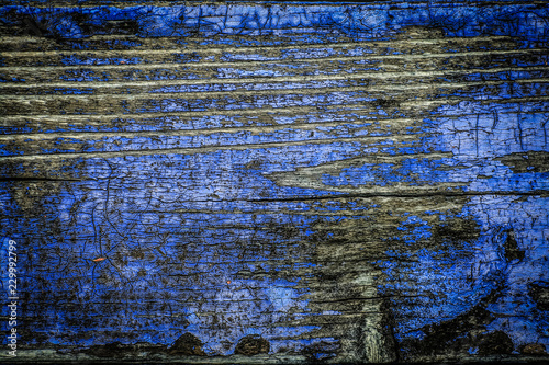 wood texture with paint remnants Canvas-taulu
