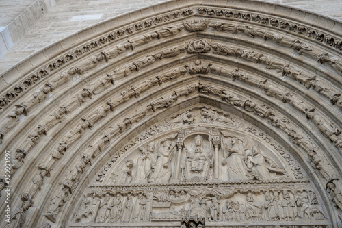 Fotografie, Obraz  Notre Dame cathedral