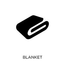 Blanket Icon. Blanket Symbol D...