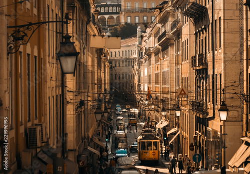 Fotografie, Obraz  Lisbon Town