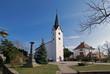 Evangelische Kirche Gräfenhausen, Weiterstadt, Hessen, Deutschland