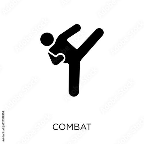 Fotografía  combat icon