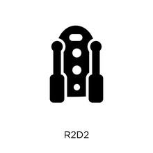 R2D2 Icon. R2D2 Symbol Design ...