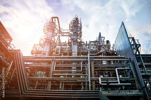 Fotografia  Voronezh Synthetic Rubber Plant, Chemical production of thermoplastic