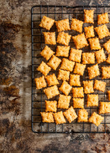 Homemade Cheese Crackers Cooli...