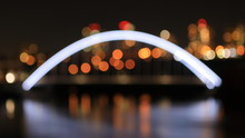 Out Of Focus Bridge Abstract