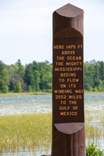 Itasca State Park In Minnesota Home Of The Mississippi Headwaters