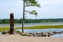 Itasca State Park In Minnesota...