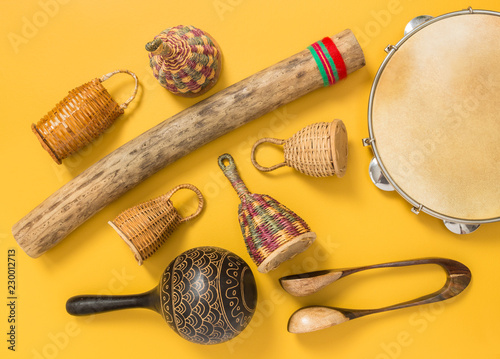 Ethnic percussion musical instruments - 230012713